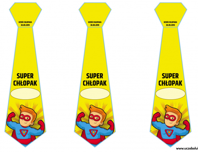 Super Chłopak - krawaty