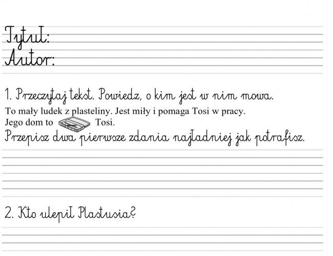 """Lektury − """"Plastusiowy pamiętnik"""""""