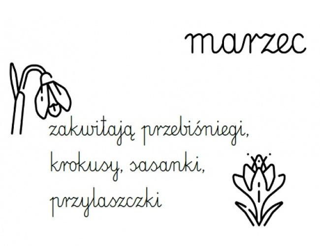 Marzec - rysnotka