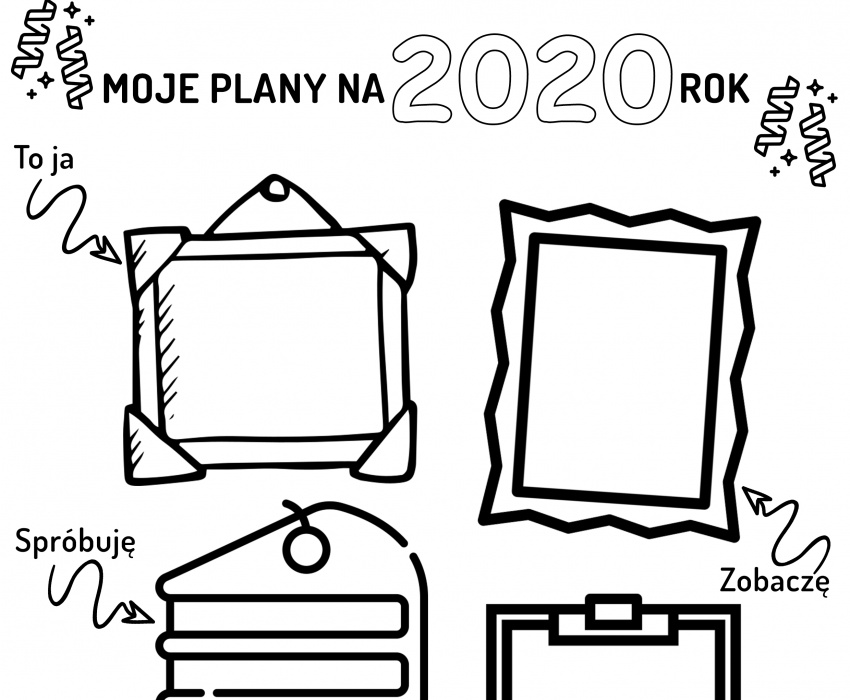 Moje plany na 2020 rok
