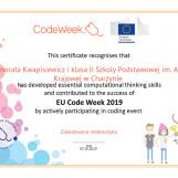 Code Week 2019 - relacja